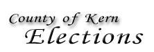 County of Kern Elections Division