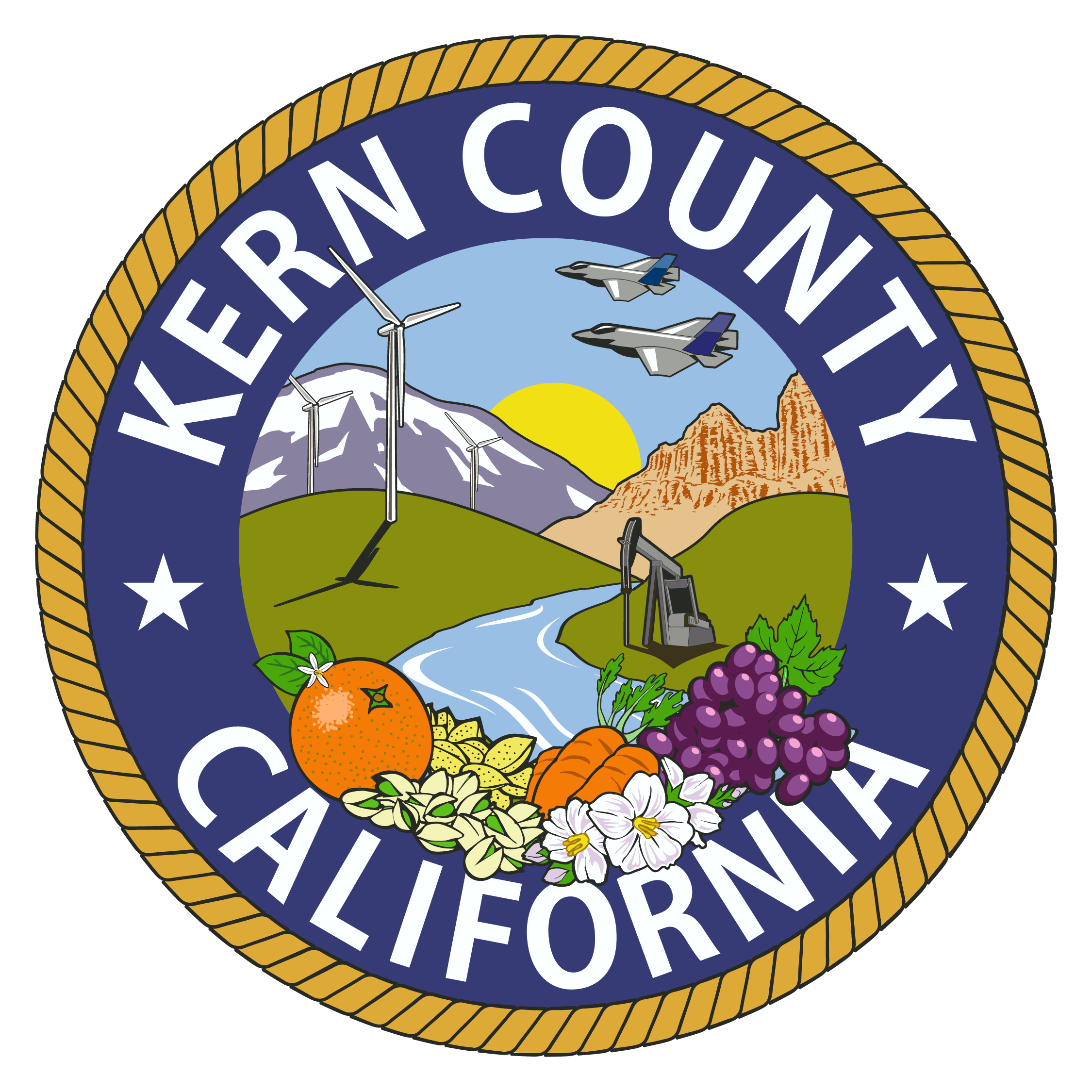 Kern County California Seal